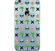 Per Custodia iPhone 7 / Custodia iPhone 6 / Custodia iPhone 5 Ultra sottile / Fantasia/disegno Custodia Custodia posteriore CustodiaCon