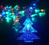 40-led 5m della luce della stella spina impermeabile esterna vacanze di Natale decorazione luce ha condotto la luce della stringa