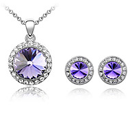 Thousands of colors  Jewelry  Jewelry Necklaces / Earrings Jewelry set Crystal Fashion Daily 1set Women-9-1-1-2732-050