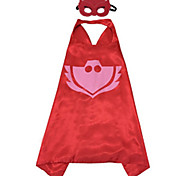 PJ Masks Costumes for Kids Catboy Owlette Gekko Mask with Cape (75*65cm)