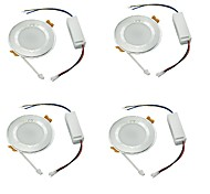 Downlight de LED Branco Frio LED 4 pçs