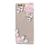 DIY Pink Flowers Pattern PC Hard Case for Huawei P9 Plus LITE P8 LITE Honor 8 7 6 6Plus 5C 5X 4X 4C 4A Mate 9 8 7