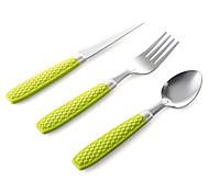 Acier inoxydable 304 Fourchette de table / Couteau de table / Louche à sauce / baguettes Cuillères / Fourchettes / Couteaux 4 Pièces