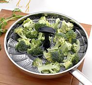 Cuiseur vapeur légumes 1PC Multifonction / Meilleure qualité / Haute qualité / Gadget de cuisine créatif Ustensiles de cuisine Acier inoxydable