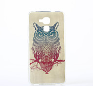 Owl Pattern TPU IMD Soft Case for Huawei Honor 7 5C 5X 4A V8 Y560