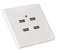 4-портовый USB-разъем с четырьмя портами