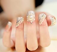 24 sposa adesivi manicure falso prodotti per le unghie manicure