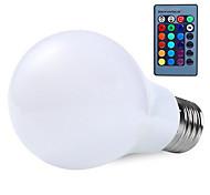 rgb 10w e27 führte Globus Glühbirne Lampe 16 Farbe changering mit 24key Fernbedienung rgb Lampen (ac85-265v)