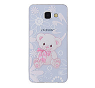 For Samsung Galaxy A8(2016) A8 A7 A5 A3 A510 A310 Case Cover Bear Painted Pattern TPU Material Phone Case
