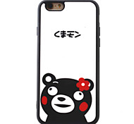 For iPhone 7 7plus 6S 6plus SE 5S 5 iPhone Case Cover  Shy Bear Pattern TPU Material