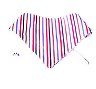 Cat / Dog Bandanas & Hats Multicolor Dog Clothes Spring/Fall Stripe Reversible(01 striped XS code)
