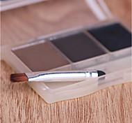 1 Brow Brush Nylon Travel / Eco-friendly Metal Eye Others