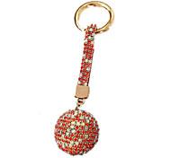 Porta-Chaves Hobbies de Lazer Porta-Chaves / Diamante / Vislumbre Ciano / Vermelho Para Meninos / Para Meninas