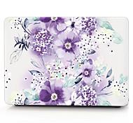 MacBook Кейс для Macbook Цветы Поликарбонат материал