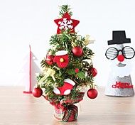 New Mini Christmas Tree Ornaments Party Dolls House Party Miniature Decor 32*12Cm