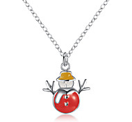 Christmas Snowman Necklace / Pendants Jewelry Wedding / Party / Daily / Casual / SportsDangling Style / Animal Design / Nature /