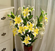 1 1 Branch Plastic / Others Lilies / Others Floor Flower Artificial Flowers