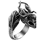 Ring Jewelry Steel Black Jewelry Wedding Party Halloween Daily Casual Sports 1pc