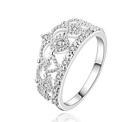 Jewelry Women Crown Silver Ring Sterling Silver Rings Statement Rings