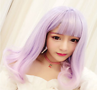 Sweet Lolita Color Gradient Lolita Wig 45 CM Cosplay Wigs For