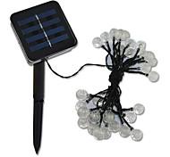 20 led solar Christmas lights string
