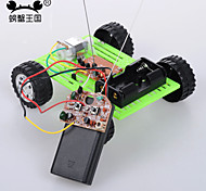 Crab Kingdom Model Assembled DIY Technology Handmade Green wo - way Remote Control Version of The Car on The 14th