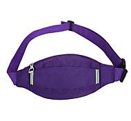 Waist Bag/Waistpack Sling & Messenger Bag Belt Pouch/Belt Bag for Climbing Leisure Sports Sports Bag Waterproof Shockproof Breathable