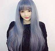 Lolita Wigs Sweet Lolita Lolita Straight Sky blue Lolita Wig 75 CM Cosplay Wigs Wig For Women