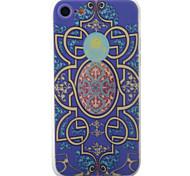 Para Diseños Funda Cubierta Trasera Funda Azulejos Suave TPU para Apple iPhone 7 Plus / iPhone 7 / iPhone 6s Plus/6 Plus / iPhone 6s/6