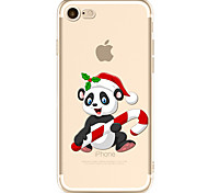 For iPhone 7 Case iPhone 6 Case Case Cover Pattern Back Cover Case Christmas Soft TPU for Apple iPhone 7 iPhone 6s iPhone 6