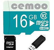 Other 16GB MicroSD Clase 10 20 Other Múltiple en un lector de tarjetas / lector de tarjetas micro sd / lector de tarjetas SD CETY04USB