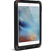 LOVE MEI for Apple iPad Mini 4 Case Cover Water Dirt Shock Proof Full Body Solid Color Hard Metal