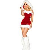 Sexy Santa Baby Red Velvet Christmas Costume