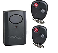 Alarm Wireless Remote Control Vibration Alarm Bicycle Burglar For 120db Home Security
