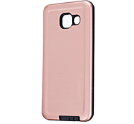 For Samsung Galaxy A5(2016) A3(2016) Case Cover Pure Color Plating PC Phone Shell for  A5 A3