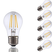 3.5W E26 LED Filament Bulbs A15 4 COB 350 lm Warm White Dimmable 120V 6 pcs
