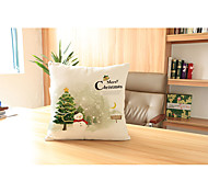 1 pcs Velvet Pillow Case,Holiday Traditional/Classic