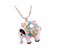 Women's Pendant Necklaces Long Necklace Simulated Diamond Alloy Animal Design Jewelry Daily Casual Sports 1pc