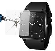 0,33 milímetros à prova de explosões anti zero filme protetor protetor de tela de vidro temperado para sony inteligente relógio 2 (sw2)
