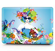 Flower Fashion Girl Pattern MacBook Computer Case For MacBook Air11/13 Pro13/15 Pro with Retina13/15 MacBook12