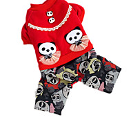 Dog Coat Dog Clothes Casual/Daily Animal Ruby