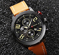 Men's Sport Watch Military Watch Dress Watch Fashion Watch Wrist watch Quartz Japanese Quartz Calendar Water Resistant / Water Proof