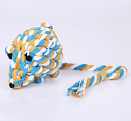 Cat Toy Dog Toy Pet Toys Chew Toy Teeth Cleaning Toy Rope Woven Mouse Textile
