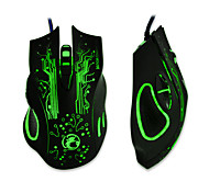 ESTONE X9 5000DPI Colorful Gaming Mouse 6 Buttons LOL Optical USB Wired Computer &Professional