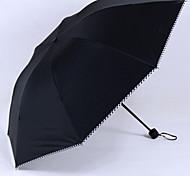 Черный Складные зонты Зонт от солнца Plastic Аксессуары на коляску