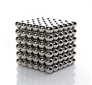 Linlinzz  Children's DIY Buckyball Stainless Steel Ball Steel Magnetic Sculptures Beads Healing Toys - 5MM (Silver)
