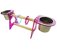 Bird Perches & Ladders Metal Plastic Wood Purple