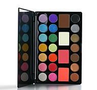 25 Eyeshadow Palette Dry Eyeshadow palette Pressed powder Daily Makeup
