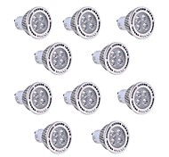 4W GU10 Spot LED T 4 SMD 3030 300-400 lm Blanc Chaud / Blanc Froid Décorative V 10 pièces
