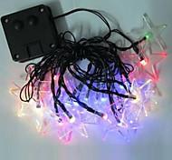 1pc 4.8m 20LED luce della stringa di energia solare per la festa di nozze vacanze di Natale illuminazione a led